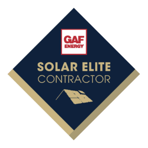 gaf energy solar elite certification logo