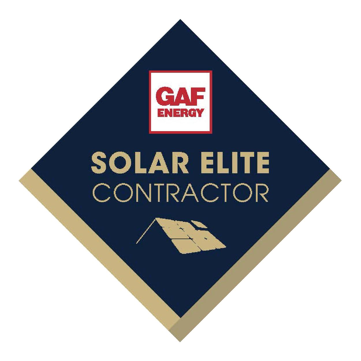 gaf solar elite contractor