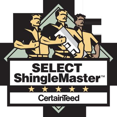 select shingle master certified