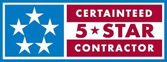5 star contractor certainteed